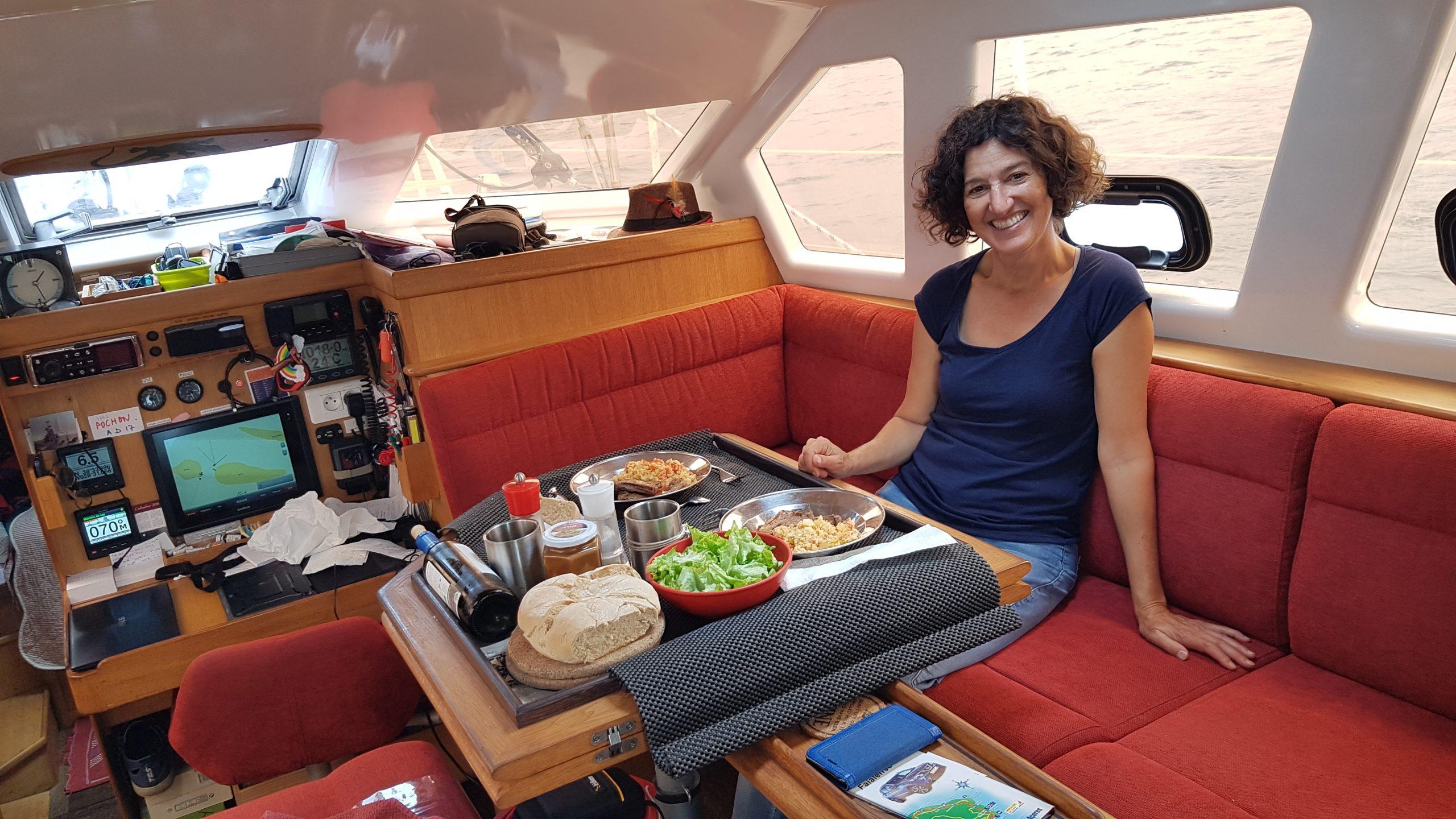 Témoignage Élisabeth – Transatlantique retour via les Açores – Fev/mai 2021